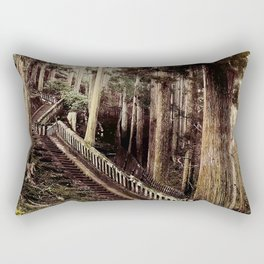 Stone Steps - Japan Nikko Rectangular Pillow