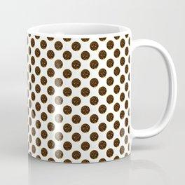 Chocolate Concha Pan Dulce (Mexican Sweet Bread) Coffee Mug