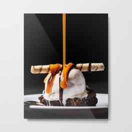 Beautiful Food by Kobby Mendez Metal Print