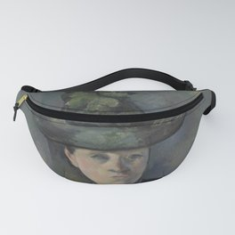 Madame Cézanne with Green Hat Fanny Pack