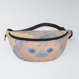 Fuzzy Creature in the Clouds Fanny Pack