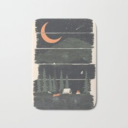 Wish I Was Camping... Bath Mat