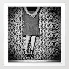 Wallflower, No. 2 Art Print