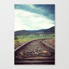 Travel Alone Canvas Print