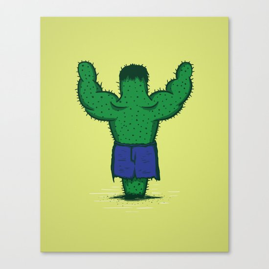 The Incredible Hulktus Canvas Print