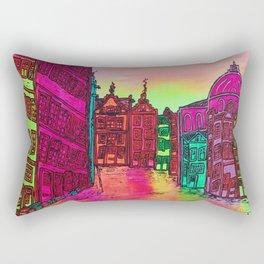 Amsterdam Stromarkt by Ans Duin Rectangular Pillow