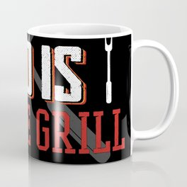 Funny Saying Dad is on the Grill for Father's Day Coffee Mug