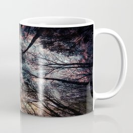 Starry Sky in the Forest Coffee Mug