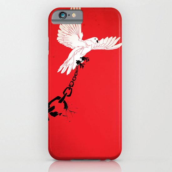 """Glue Network Print Series """"Justice & Freedom"""" iPhone & iPod Case"""