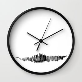 Phonetic - Singular #494 Wall Clock