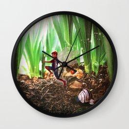Skipping Fairy Wall Clock