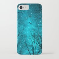 birds iPhone & iPod Cases featuring Stars Can't Shine Without Darkness  by soaring anchor designs