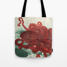 Octopus Beach Tote Bag