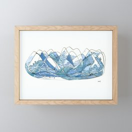 The North Shore Framed Mini Art Print