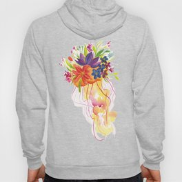rainbow jellyfish Hoody