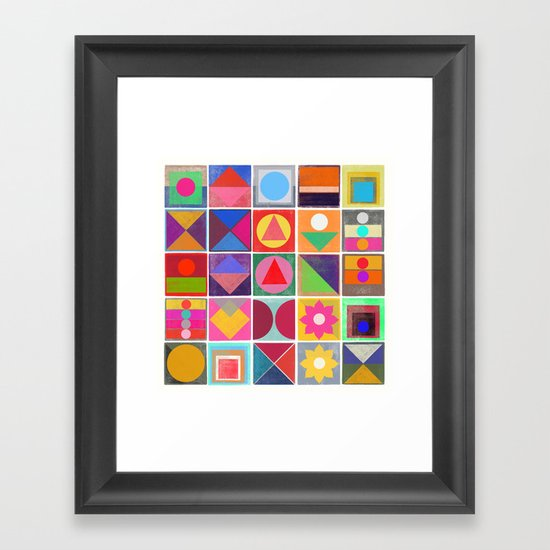 awake 2 Framed Art Print