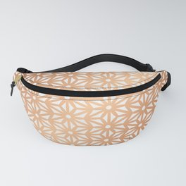 Asanoha Pattern - Rose Gold Fanny Pack