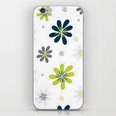 Simple Multi Flower iPhone & iPod Skin