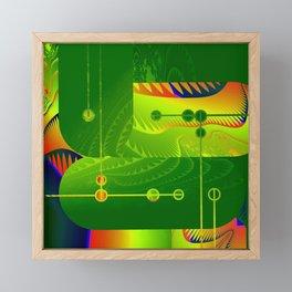 Great Green Frac 3 Framed Mini Art Print