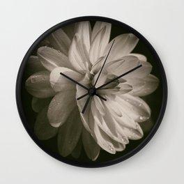 Vintage Velvet Wall Clock