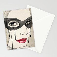 Mask Stationery Cards