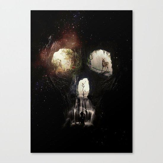 Cave Skull Canvas Print