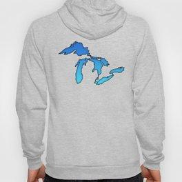 Great Lakes in Blue Hoody