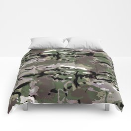Camo Camo, and the art of disappearing. Comforters