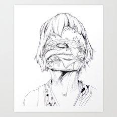 6 pieces_3 Art Print