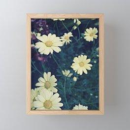 Flowers Polaroid Framed Mini Art Print