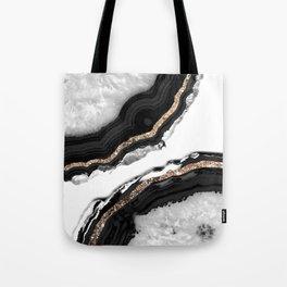 Agate Glitter Glam #2 #gem #decor #art #society6 Tote Bag