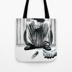 One Imbecile Less Tote Bag