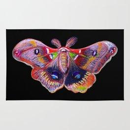 Glowy Moth Rug