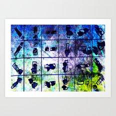 object matchsticks Art Print