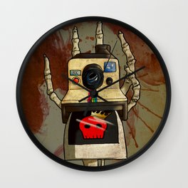 Vintage Polaroid Wall Clock