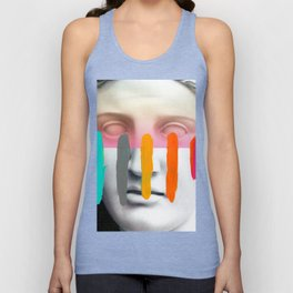 Composition on Panel 2 Unisex Tank Top