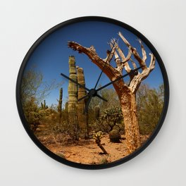 In The Desert Wall Clock