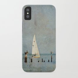 A Good Day for Sailing iPhone Case