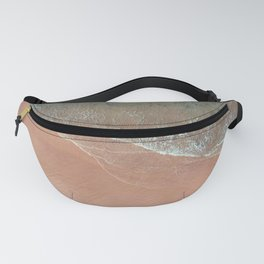 contrasting waves 3 Fanny Pack