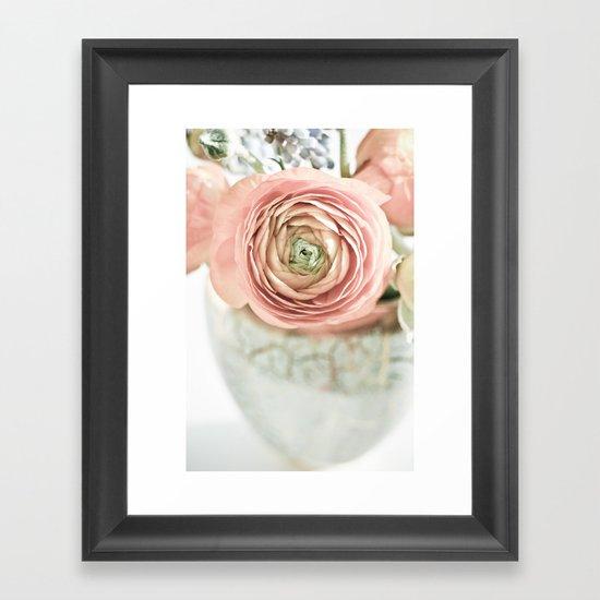 I love buttercups Framed Art Print