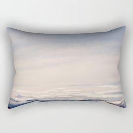 The Beauty of Norwegian landscape Rectangular Pillow