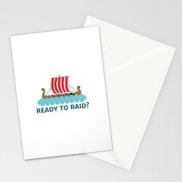 Ready To Raid? Stationery Cards