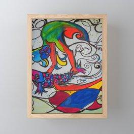 Jumping Fish  #Society6   #decor #buyart Framed Mini Art Print