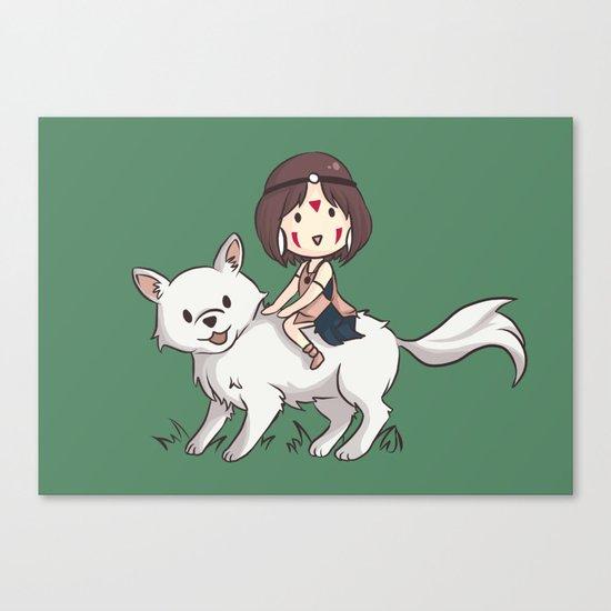 Princess Mononoke II Canvas Print