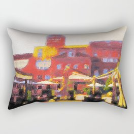 Muenster, Germania Campus Rectangular Pillow