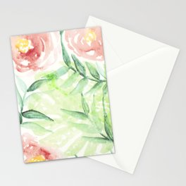 Abstract Tropical Pattern I Stationery Cards