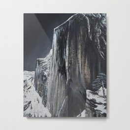 Ode to Ansel Adams: Monolith Metal Print