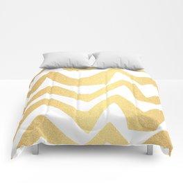 Golden Lines Comforters