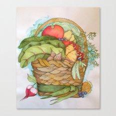 Homegrown Canvas Print