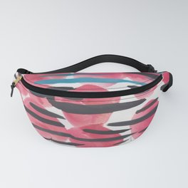 28    | 190408 Red Abstract Watercolour Fanny Pack